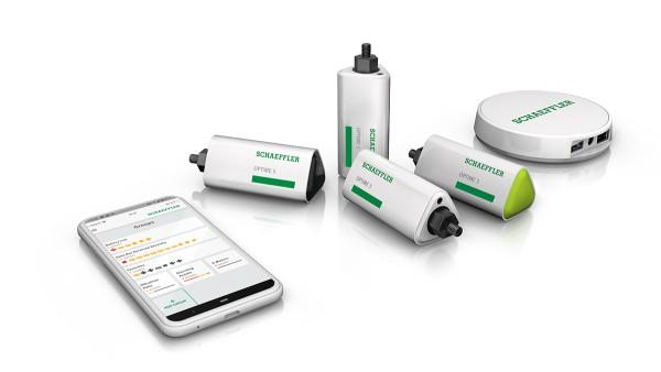 OPTIME is a wireless IoT solution from Schaeffler.