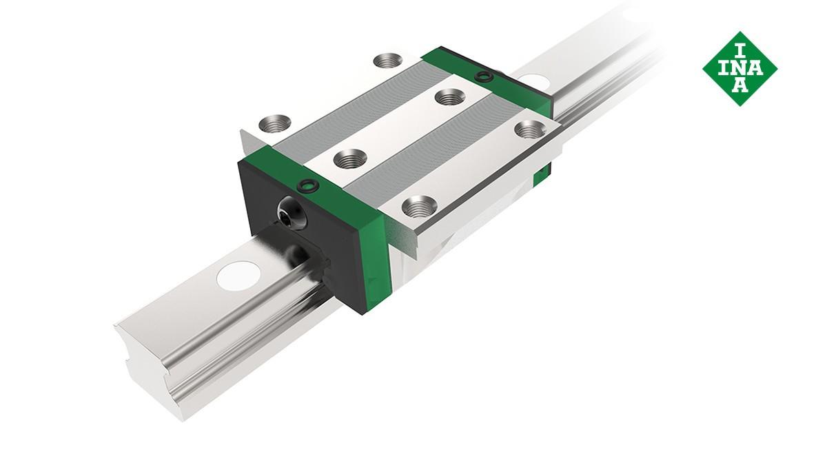 Schaeffler linear guides: Linear ball bearing and guideway assemblies