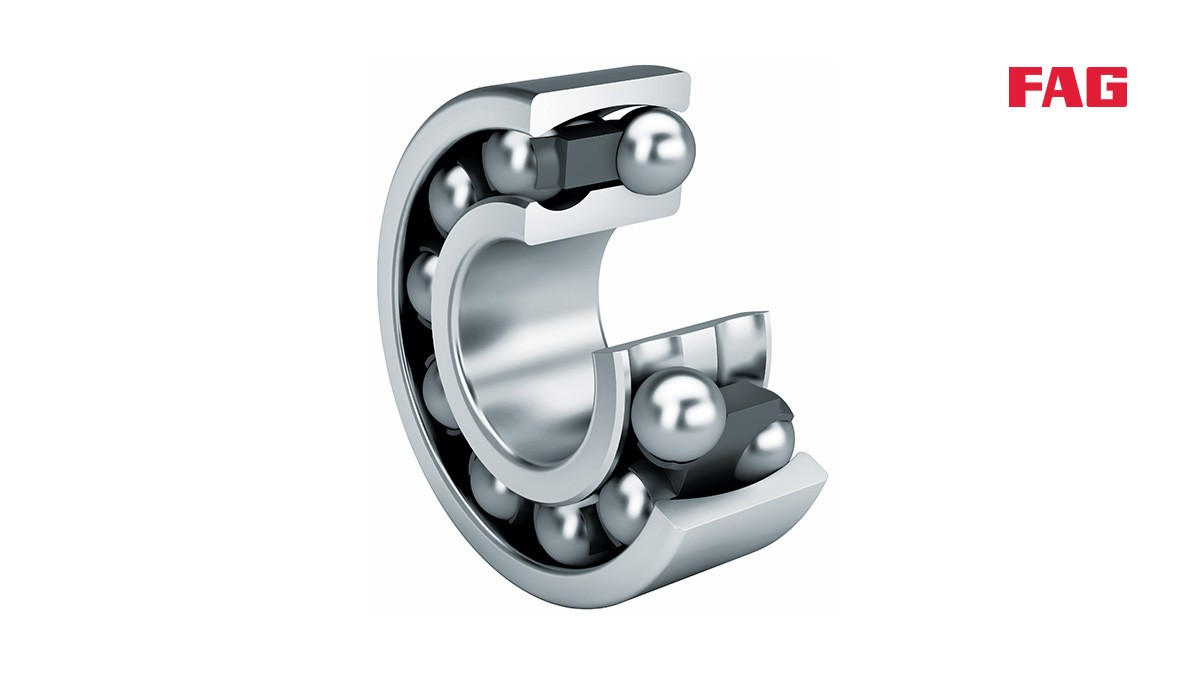 Schaeffler rolling bearings and plain bearings: Self-aligning ball bearings